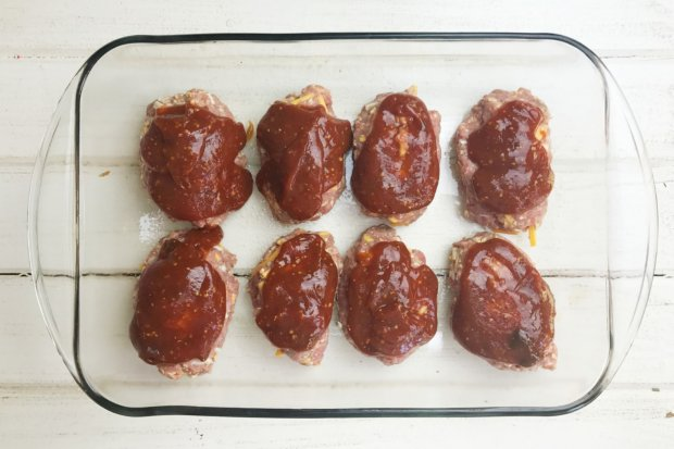 Mini Meatloaves Ready for the Oven