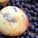 Saskatoon Berry or Blueberry Muffins 2