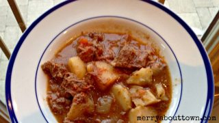 Crockpot Beef Stew - Merry About Town