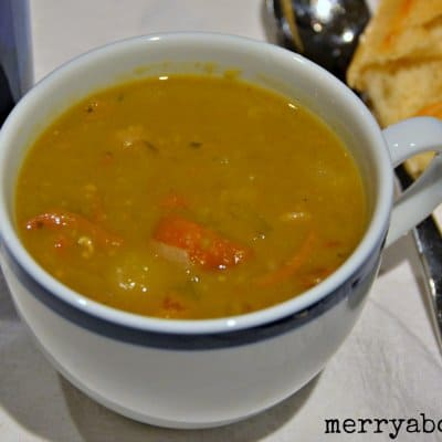 Crockpot Split Pea and Ham Soup - Merry About Town