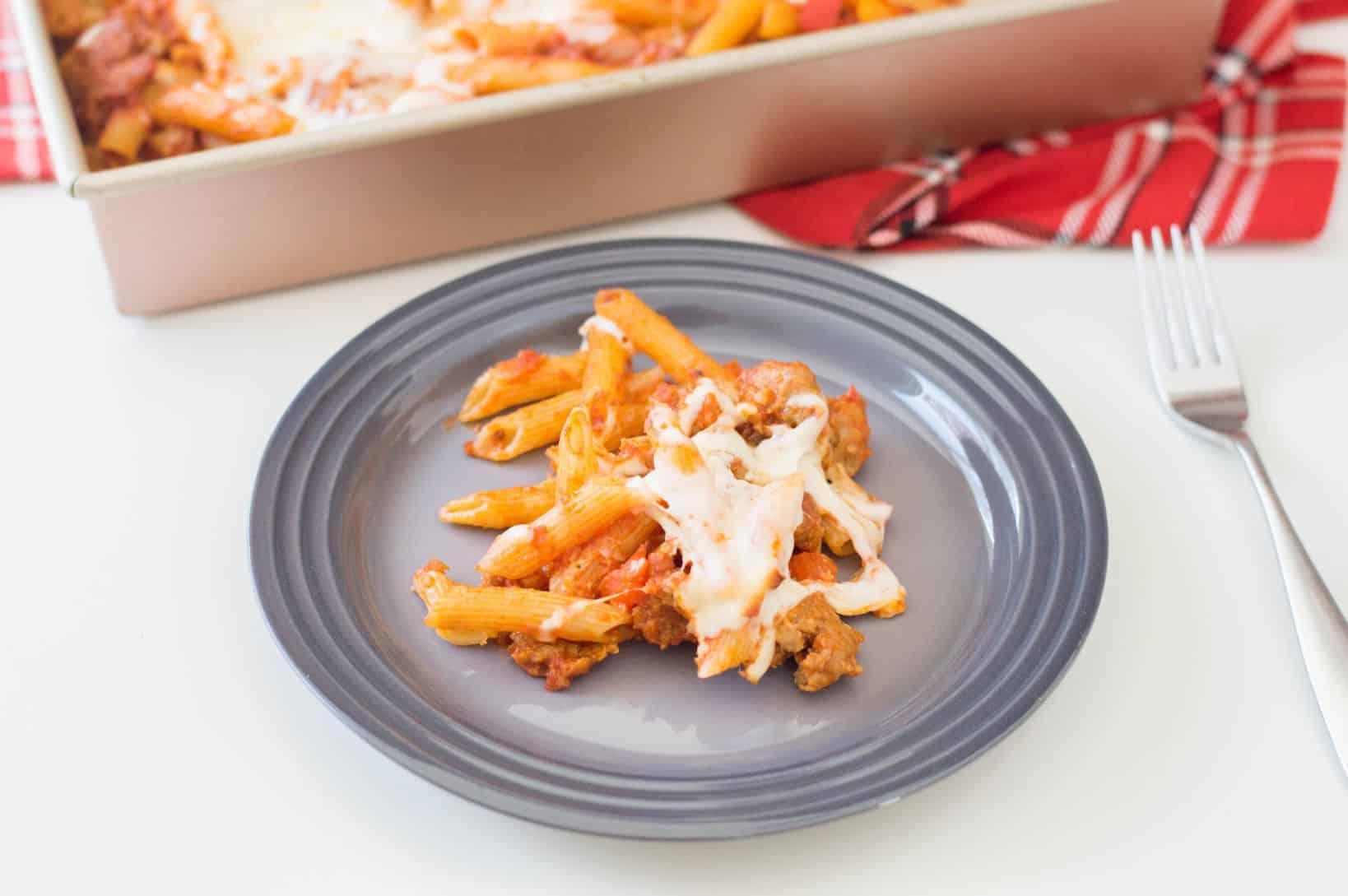 Italian Sausage Pasta Bake Recipe
