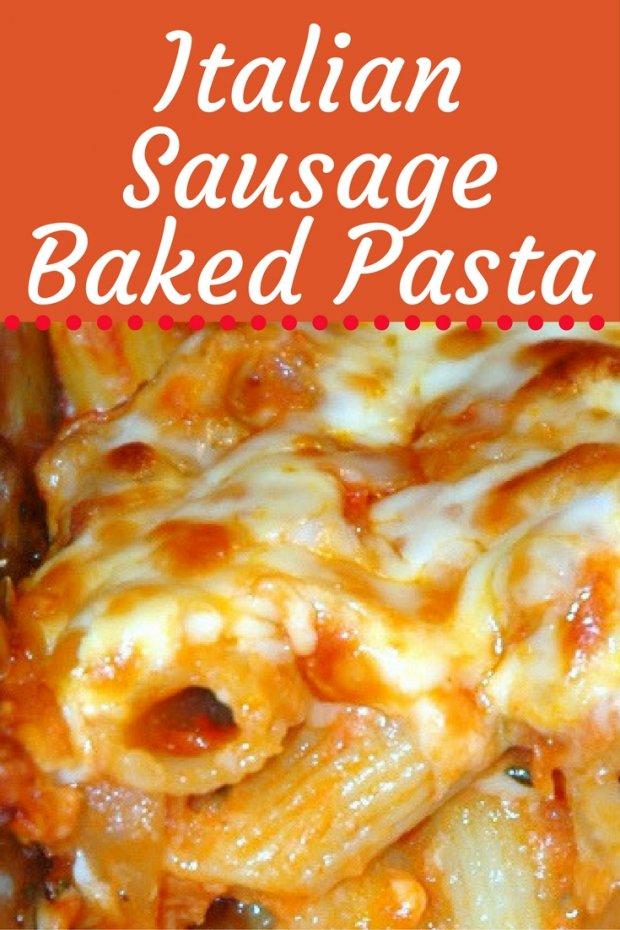 italian-sausage-baked-pasta-recipe