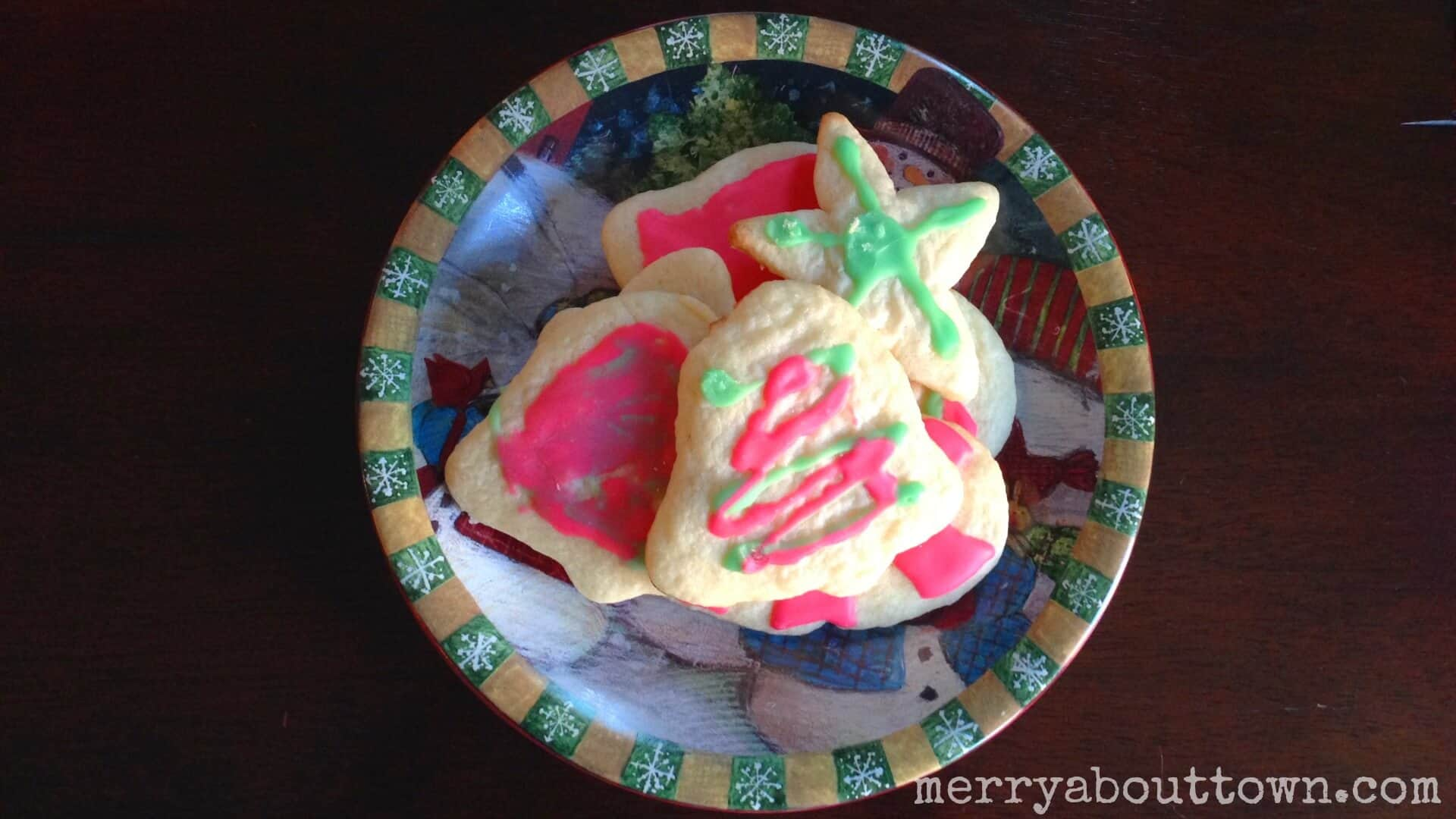iced Sugar Cookies Recipe