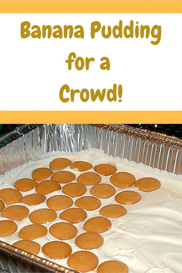 How to make Southern Banana Pudding for a Crowd!