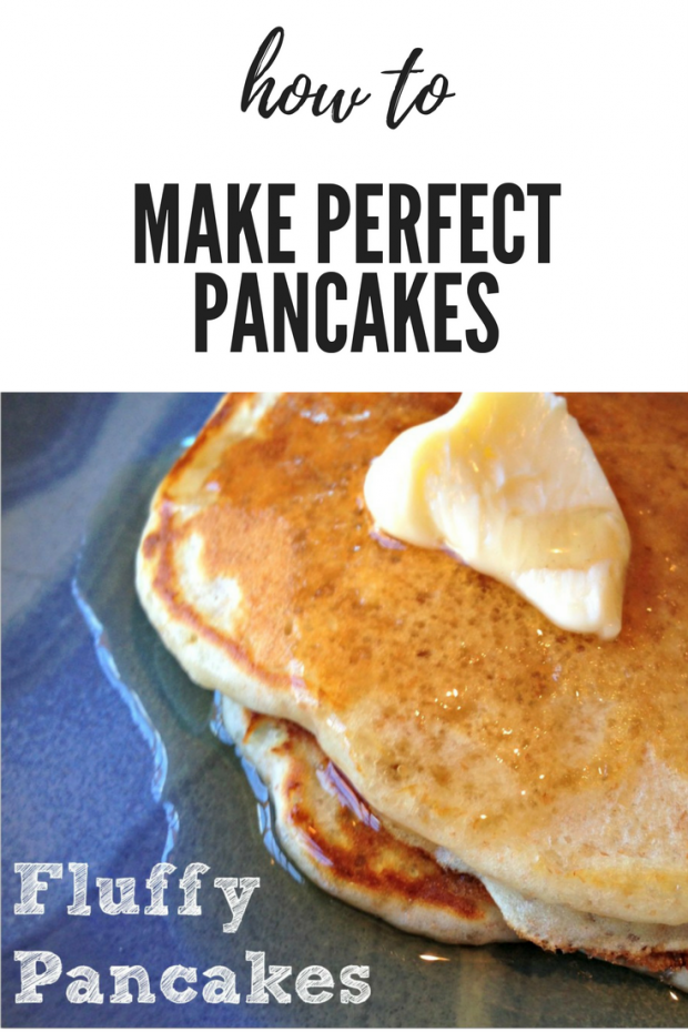 how to make the perfect fluffy pancakes