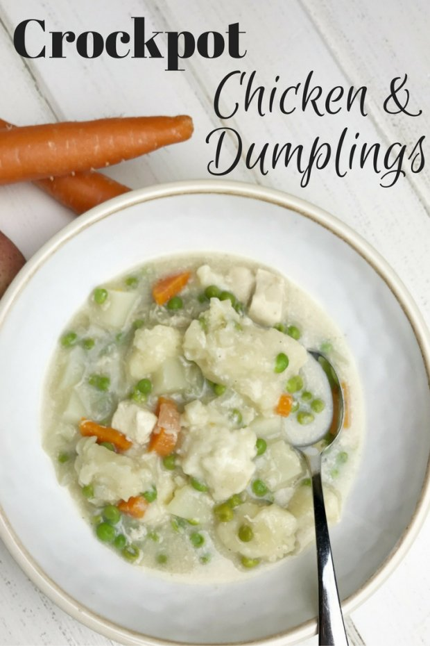 slow cooker easy chicken and dumplings