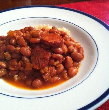 Tangy Crock Pot Pinto Beans Bonanza