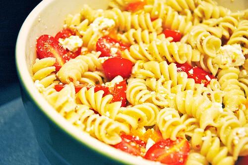 Lemony pasta salad 2