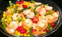 Summer Shrimp Stirfry