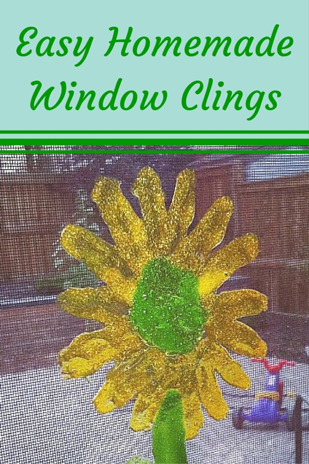 Easy Homemade Window Clings
