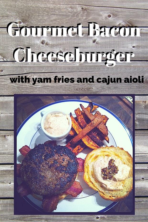 Gourmet BaconCheeseburger