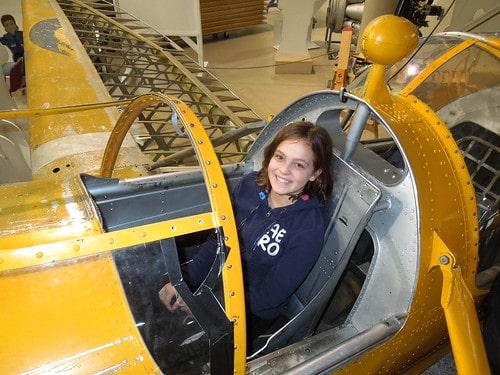 Nicole's turn as pilot