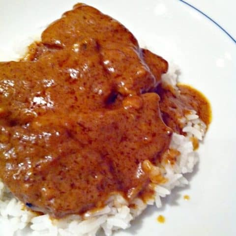 Peanut Butter Beef Curry