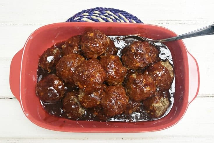 Honey Garlic Meatballs
