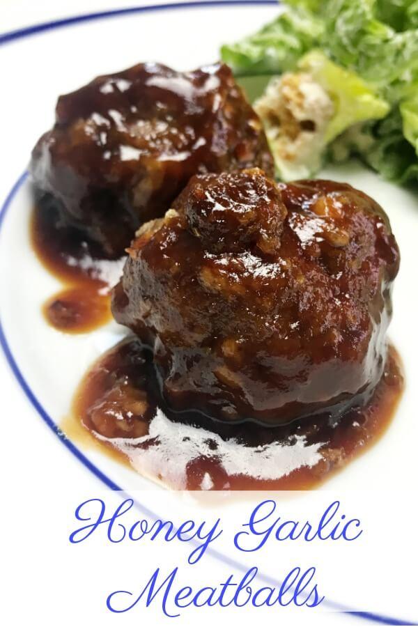 Honey Garlic Meatballs Recipe