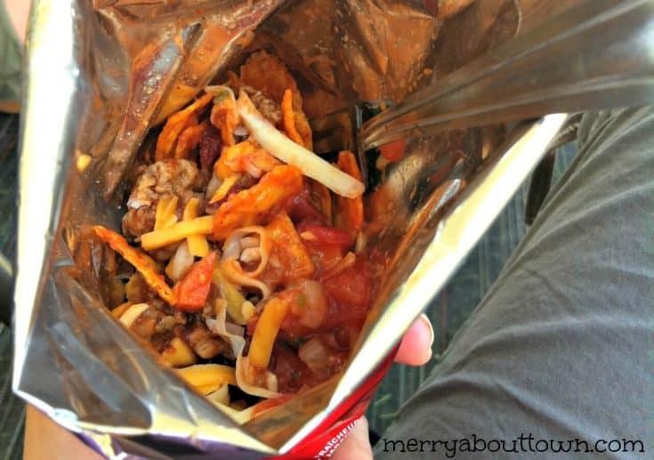 Taco in a Bag - Fun Camping Food!