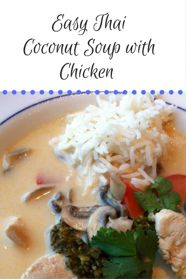 Easy Thai Coconut Soup with Chicken