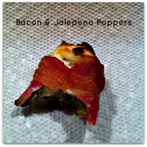 Bacon Jalepeno Poppers