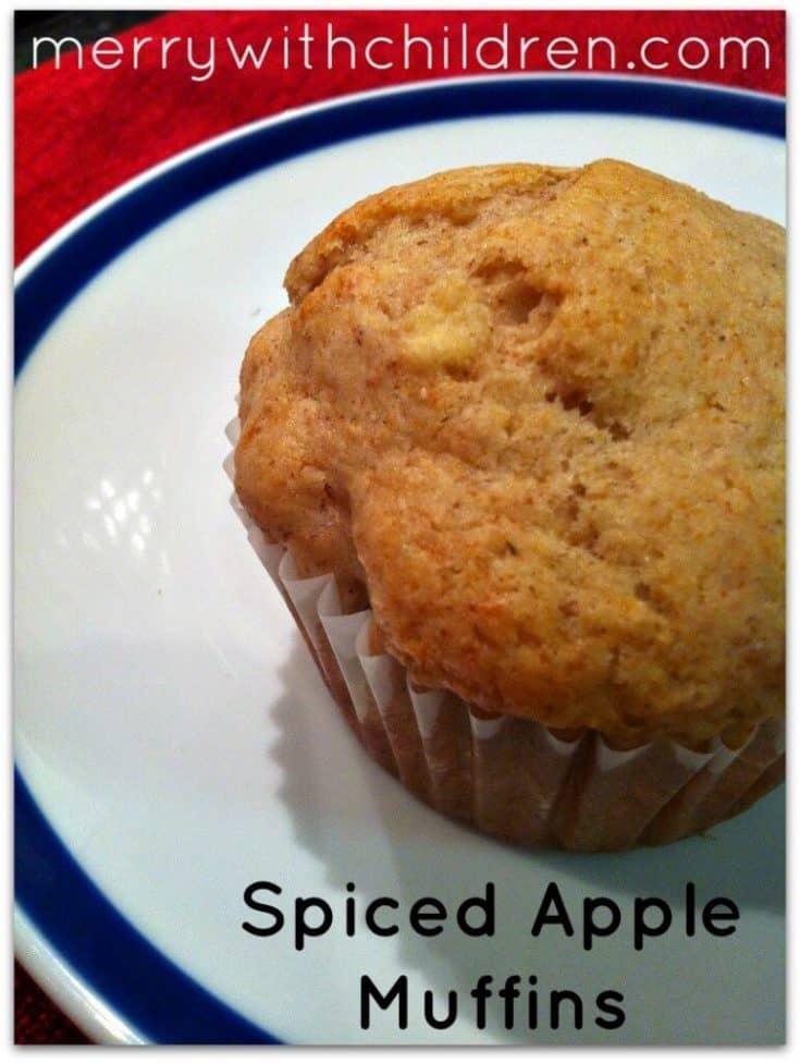 Spiced Apple Muffin Recipe