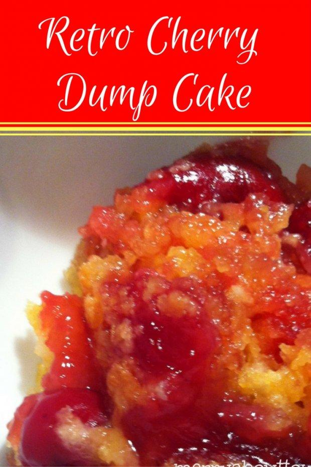 Retro Cherry Dump Cake