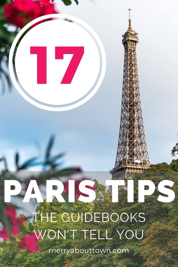 17 Paris tips the guidebooks won't tell you