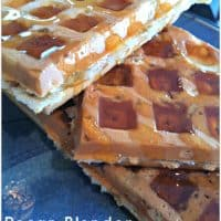 Pecan Blender Waffles