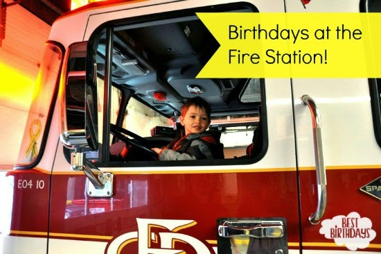 Real Party: Birthday at the Fire Station