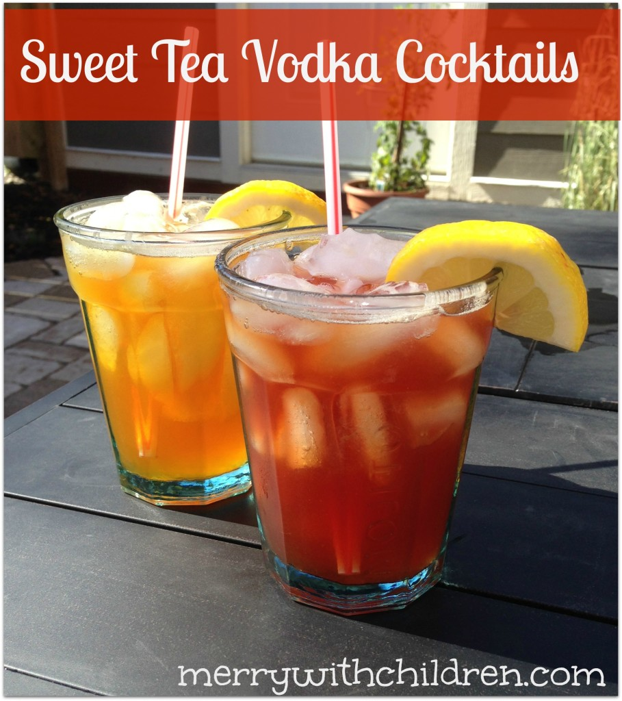 Homemade Sweet Tea Vodka - Merry About Town