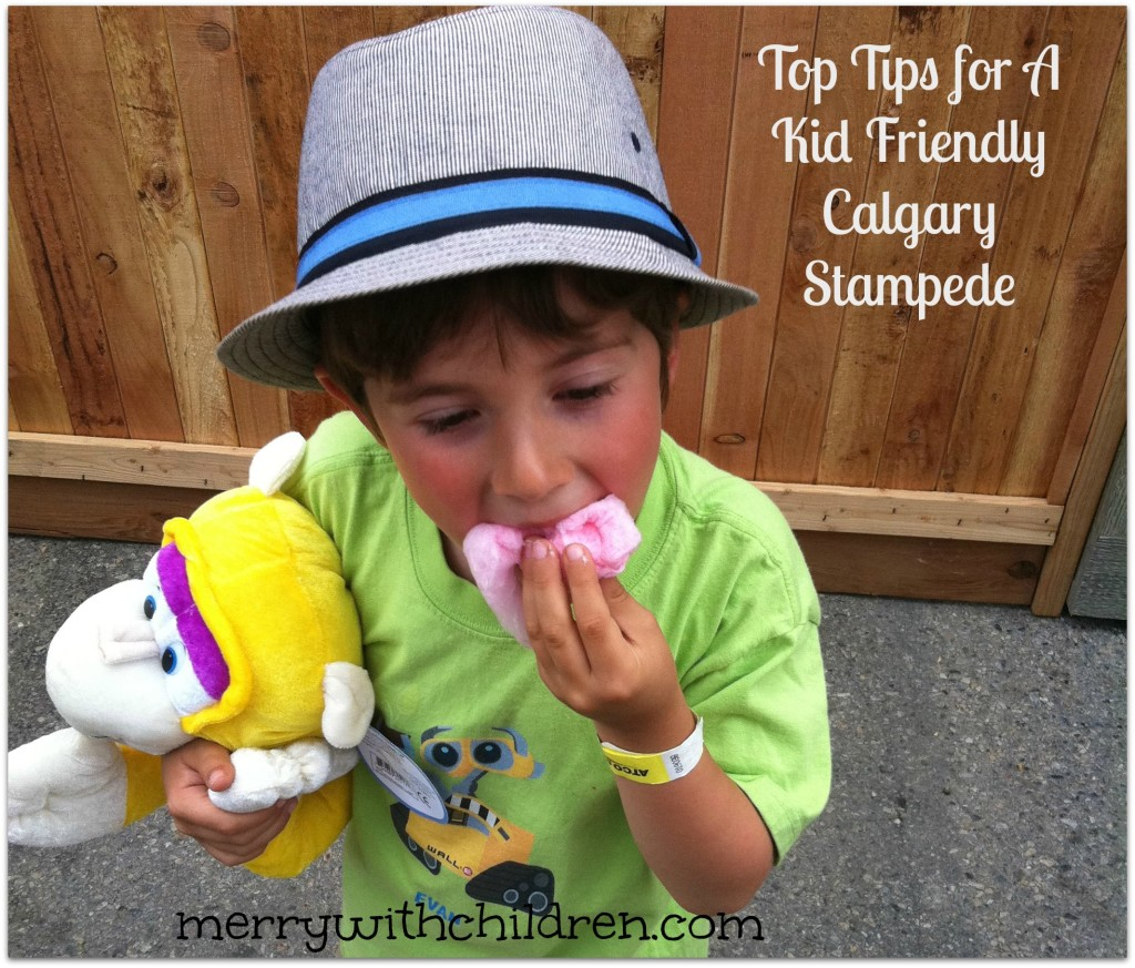 My Top Tips For A Kid Friendly Calgary Stampede Merry