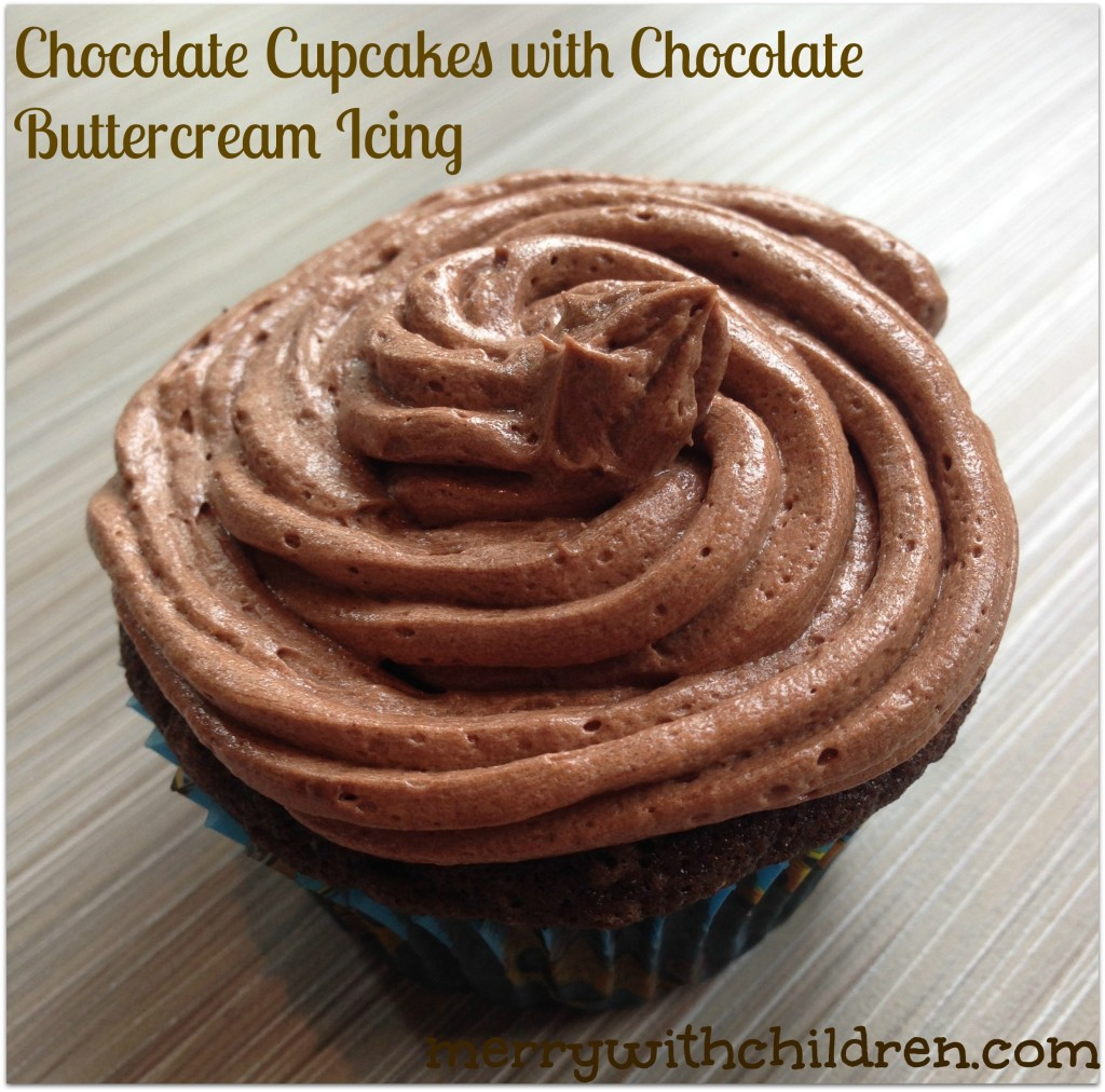 Chocolate Cupcakes With Biscoff Buttercream Icing Recipes — Dishmaps