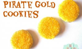 Gold Dubloon Cookies for a Pirate Party
