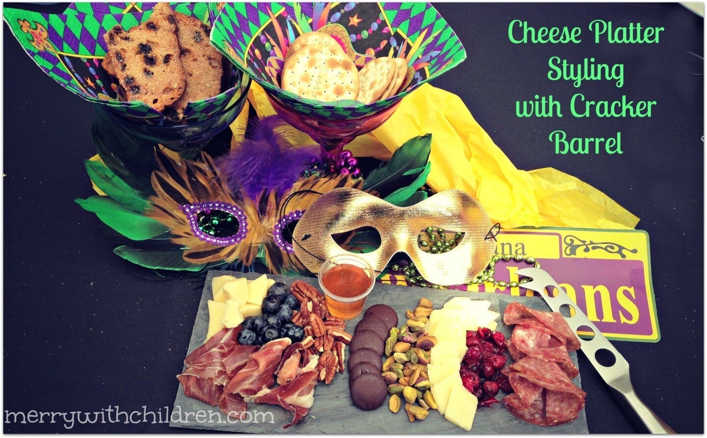 Cheese Platter Styling with Cracker Barrel