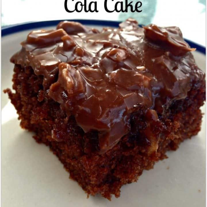 Super Chocolatey Coca Cola Cake