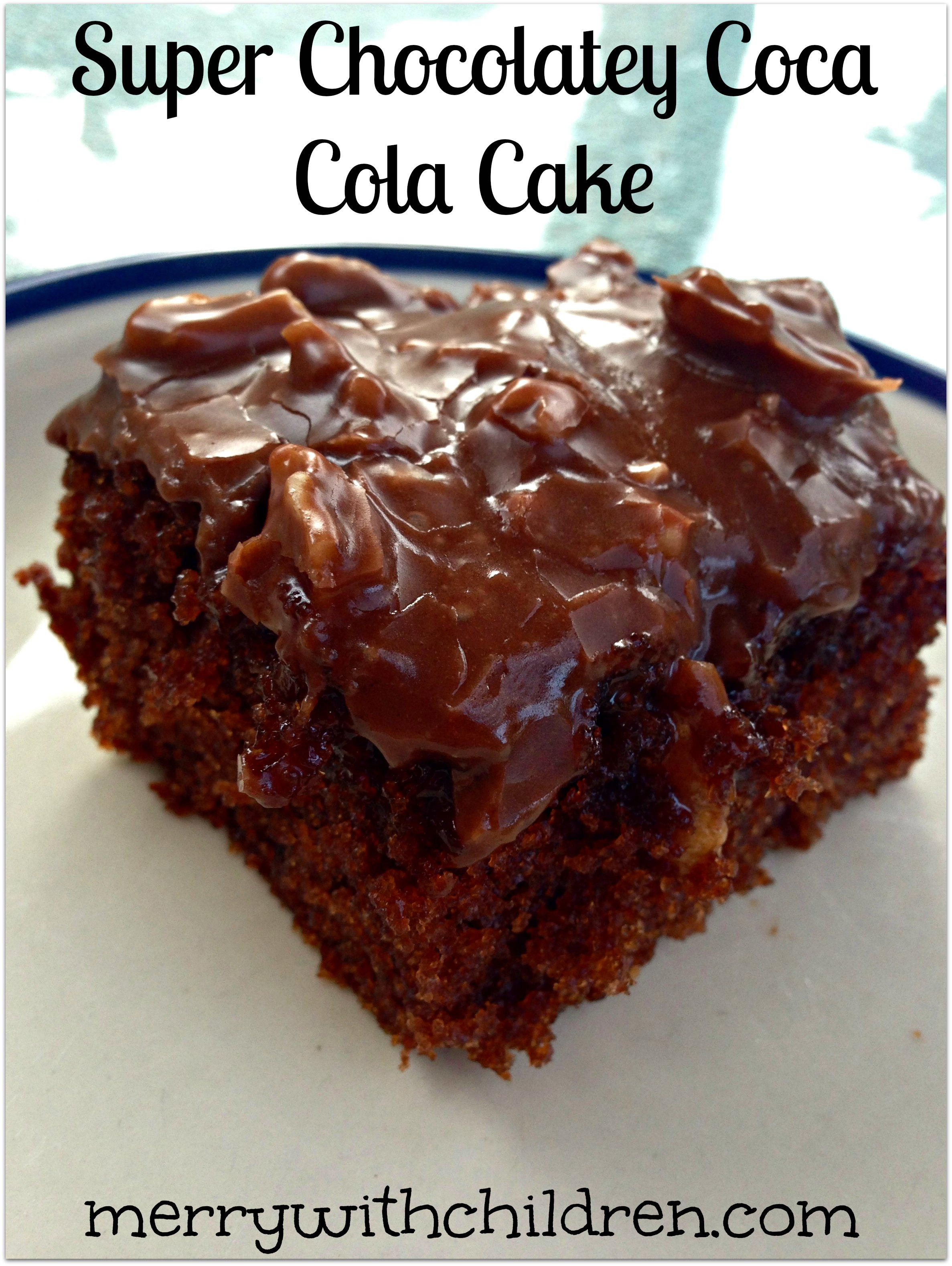 Chocolate Coke A Cola Cake Recipe