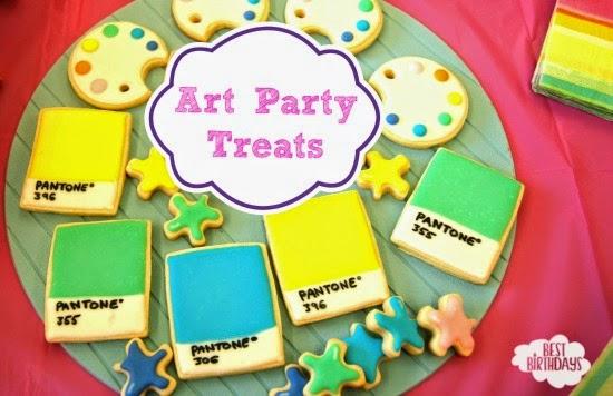 Art Party Treats