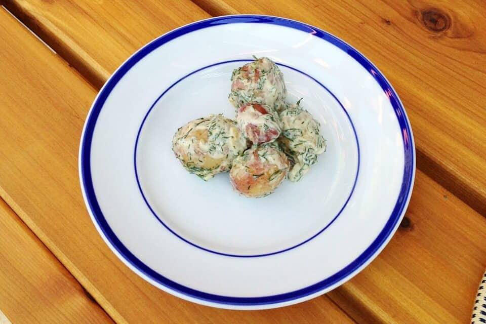 creamy dill potatoes