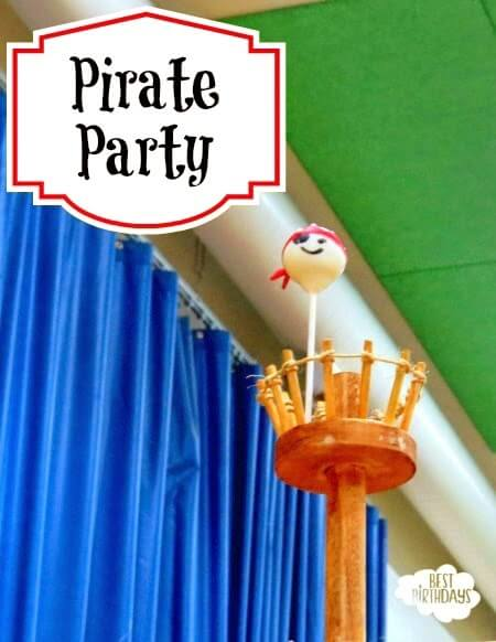 Real Party: Pirate Birthday