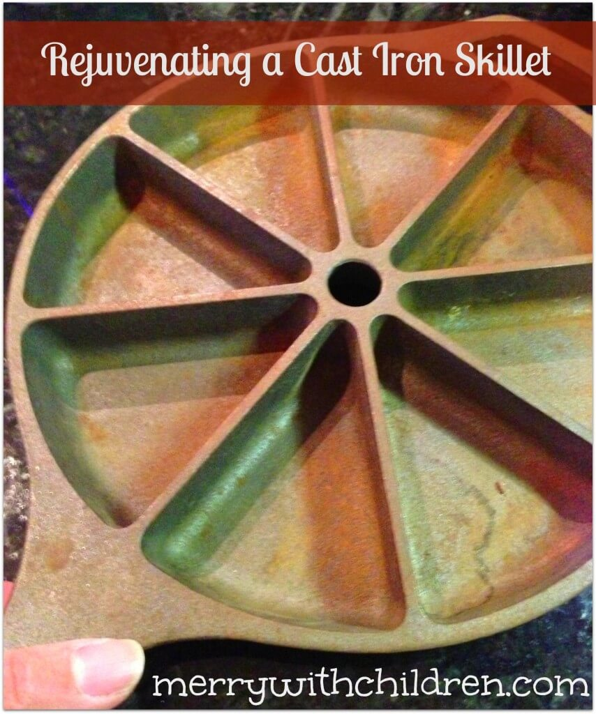 Giving a Cast Iron Skillet New Life