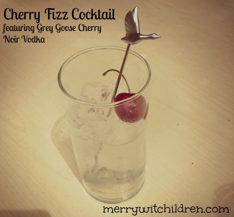 Cherry Fizz Cocktail