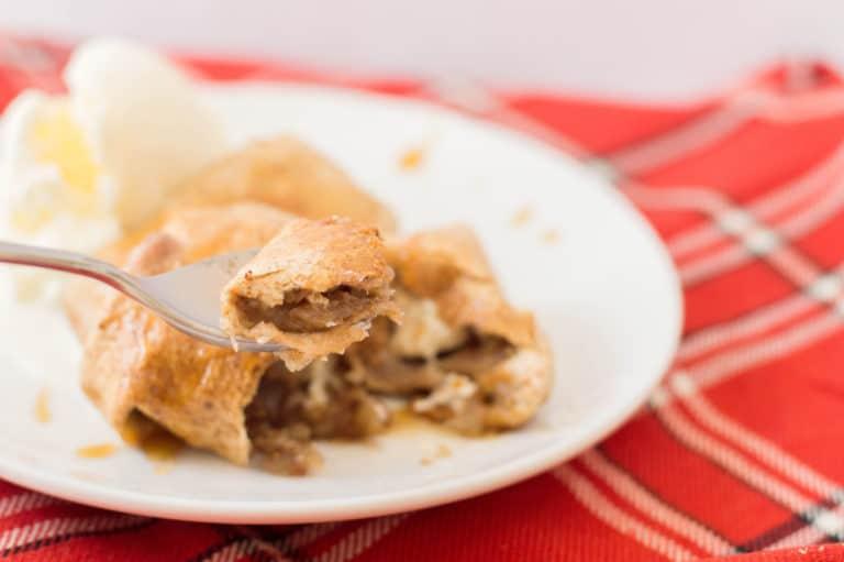 Apple Enchiladas for Dessert
