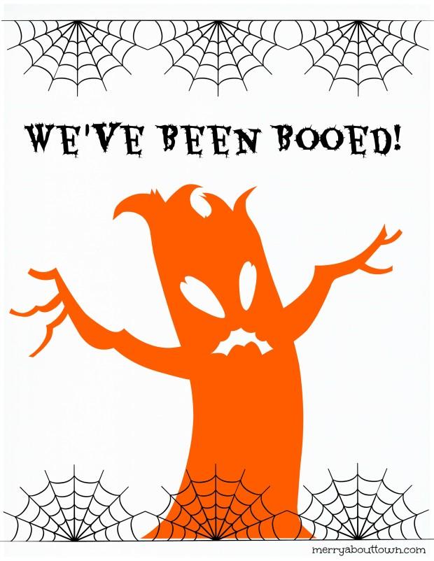 Boo Sign Printable