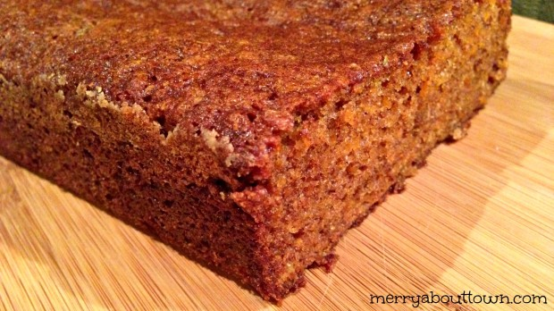 Carrot Raisin Quick Bread