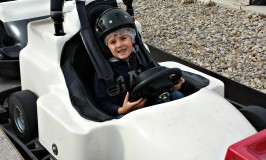Evan's First Try at Go Karting ~ Shakers Fun Centre Calgary