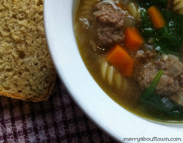 Kid Friendly Mini Meatball Soup