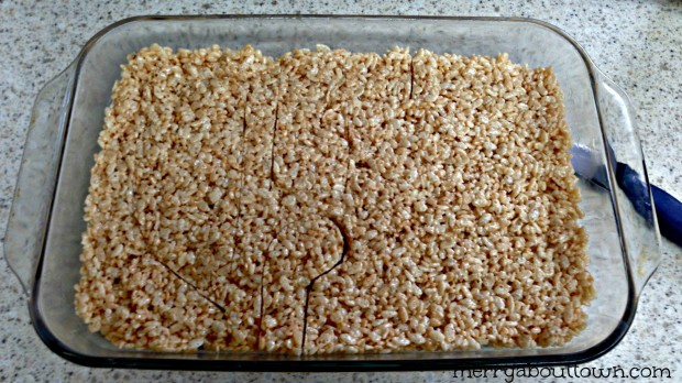 Cutting out the Rice Krispies