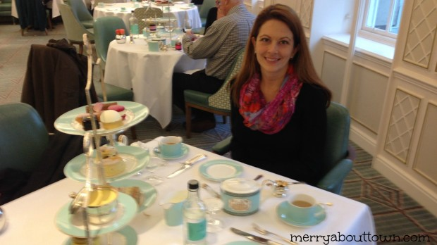High Tea at Fortnum and Mason's