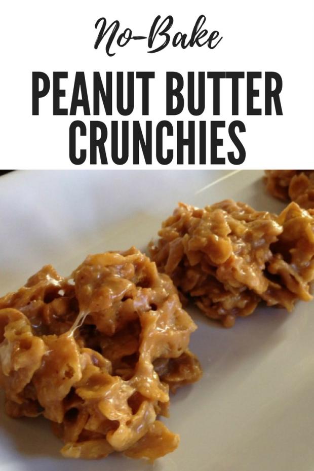 No-Bake Peanut Butter Crunchies