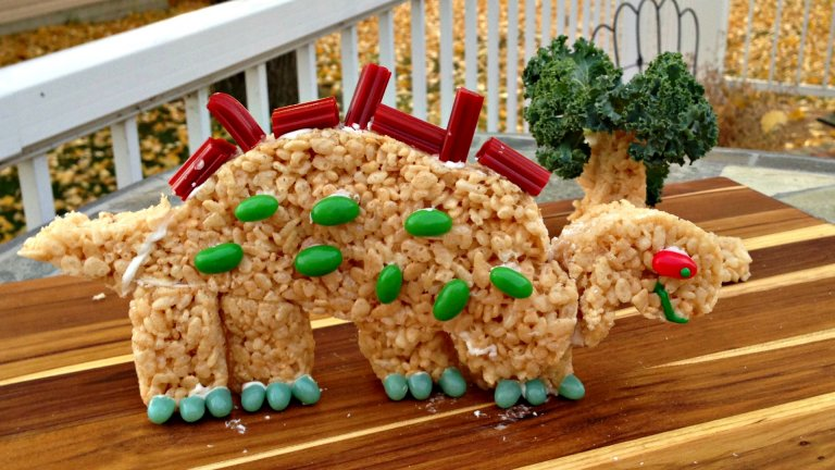 Rice Krispies Dino