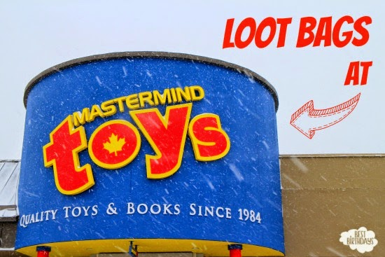 Loot Bags at Mastermind Toys