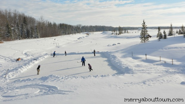 a trip to gull lake in winter who knew merry about town